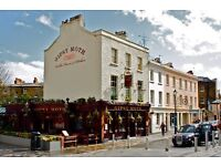 Iconic greenwich pub recruiting Full Time & Part Time Bar, Floor, BarBacks, Chefs & BBQ chefs
