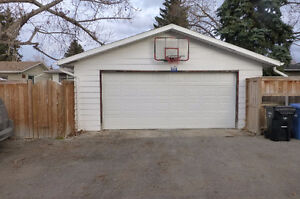 NW Calgary, OVERSIZE Dbl Garage, Insulated, Avail. March 1st
