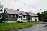 Two-storey House for Sale along St. Croix River in St. Stephen