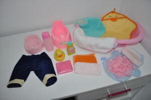 Lot accessoires pour poupée - 10$