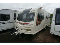 2013 BAILEY UNICORN MADRID 4 BERTH CARAVAN - END WASHROOM -MOTOR MOVER - SUNROOF