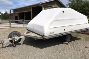 Snowmobile/ATV enclosed trailer
