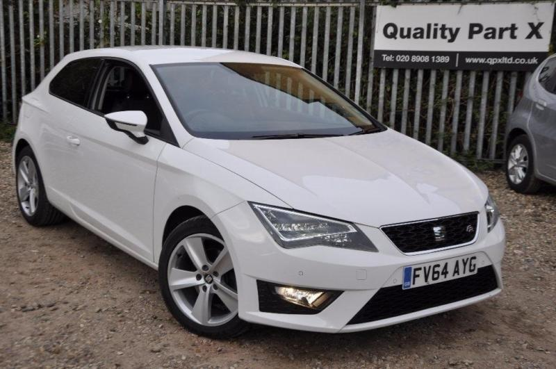 2014 Seat Leon 1.4 TSI ACT FR (Tech Pack) SportCoupe 3dr (start/stop)