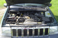 PARTING OUT 97 JEEP GRAND CHEROKEE 4.0 LITER