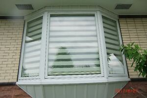 bay window,fenetres de diverses grandeurs