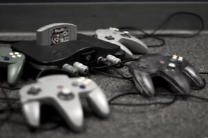 Looking for a Nintendo 64 and games