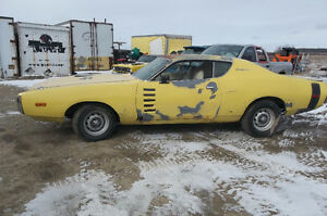 1972 Dodge Charger rallye 440 auto with factory N96 package