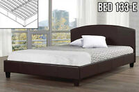 Modern Platform Beds – No need for a box spring! (Bed 133)