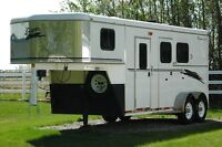 Bison 2001 Two Horse Trailer w/ Weekend Package