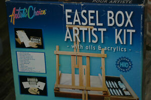 ARTIST's CHOICE - Easel Box Artist's Kit