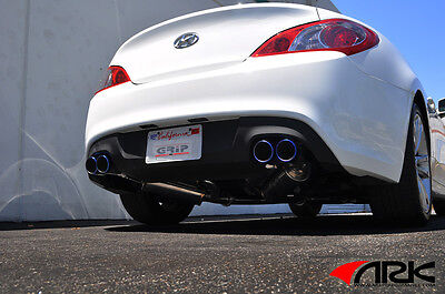2010-2014 Genesis Coupe 2.0T ARK GRIP Catback Exhaust System with Burnt Tips