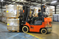 Warehouse Forklift operator/driver (6 hour shift)