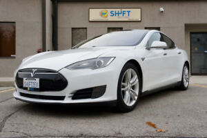 2015 TESLA MODEL S 70D AUTOPILOT, AWD, PANORAMIC SUNROOF