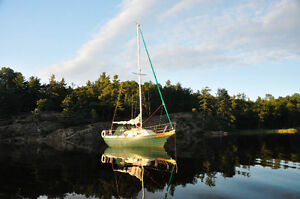 Bayfield 25 - The Perfect Full Live Aboard Pocket Cruiser!
