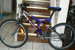 HANDSOME Large Mountain Bike- DOUBLE SHOCKS -Upto 6 Feet