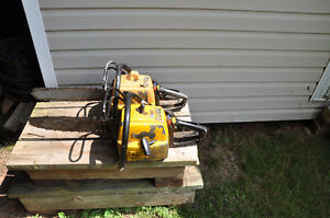Two Partner Chainsaws