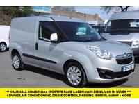 2014 VAUXHALL COMBO 2300 L1H1 RARE 2.0 CDTI SPORTIVE 135 BHP DIESEL VAN WITH 6 S