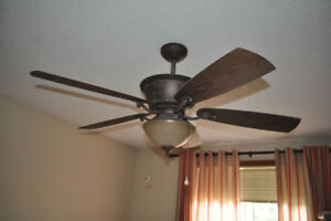 Hampton Bay Ceiling Fan with Remote
