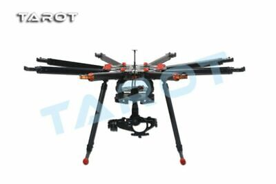 Tarot X8 8 Aixs Octocopter Folding Frame Kit TL8X000 W/ Retractable Landing Gear