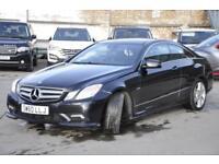 null Mercedes-Benz E Class 2.1 E220 CDI BlueEFFICIENCY Sport 2dr