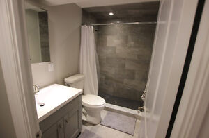 BRAND NEW: Fully Custom Finished Basement Apartment for Rent