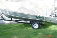 16 Sea Nymph Boat, trailer, spare tire, & extras