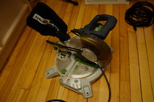 "Haussmann 8 1/4"" compound mitre saw"