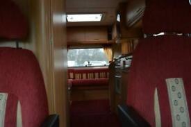 Swift Lifestyle 590RL FIAT 4 BERTH 2 TRAVEL SEAT MOTORHOME