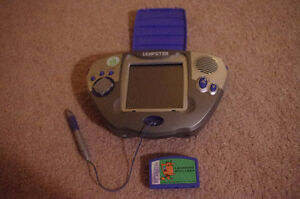 Leapster Game Unit/Console & Stylio +One Leapster Game Cartridge