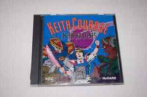 Jeu Keith Courage in alpha zone / turbografx 16