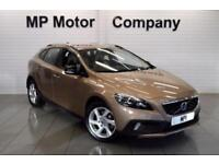 2014 14 VOLVO V40 1.6 D2 CROSS COUNTRY LUX 5D AUTO 113 BHP DIESEL 6SP 5DR HATCH.