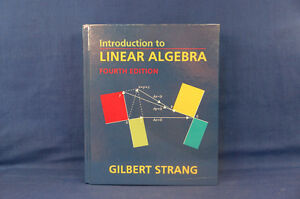Introduction To Linear Algebra Fourth Edition Gilbert Strang NEW