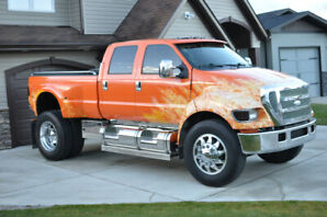 Ford F650 Supertruck Monster Truck Lifted