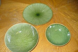 set of 3 Stokes serving dishes
