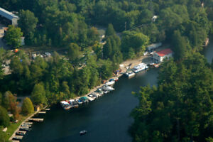Extremely profitable Marina for sale on Rideau System