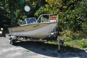 Starcraft 18ft Boat 120hp and trailer - NEW PRICE