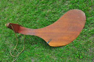 Dispro rudder antique mahogany