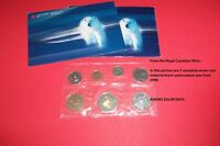 1999 RCM Seven Coin Nickel Brilliant Uncirculated Sets (x 2)