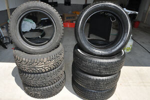 Toyo (4) All Season Tires and Hankook (4) Winter Tires