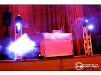 Premier Beats, Discos & DJ Services [Uplighting, Starlit LED Dance Floors, LED LOVE Letters]