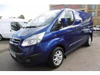 2014 FORD TRANSIT CUSTOM 290 L1 LIMITED 155 SWB IN DEEP IMPACT BLUE ***** PANEL