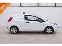 2012 62 FORD FIESTA 1.4 1.4 TDCI 1D 69 BHP DIESEL CAR DERIVED VAN