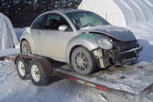 2006 VW BEETLE TDI PARTING OUT