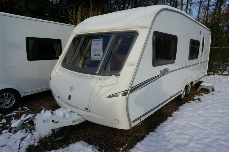 2008 ABBEY VOGUE 600 6 BERTH TWIN AXLE