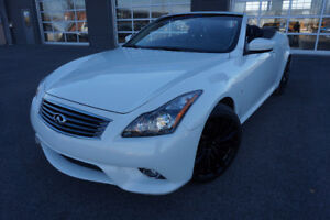 INFINITI Q60S 2014 CONVERTIBLE LIKE NEW!! $434 MOIS 26995$