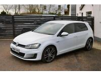 2014 VOLKSWAGEN GOLF GTD 184 WHITE FVSH 5DR PURE WHITE DYNAUDIO SOUNDS