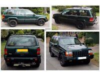 1997 Jeep Grand Cherokee Limited Edition 4.0 Petrol Auto - SUPERB!