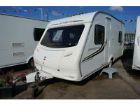 2011 SPRITE SPORTSTYLE 5 BERTH LIGHTWEIGHT CARAVAN - DOUBLE DINETTE - SUPERB
