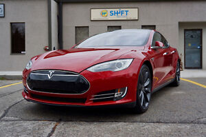 2013 Tesla Model S P85+ PERFORMANCE 7 PASSENGER LOADED