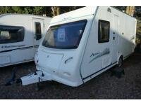 2009 ELDDIS XPLORE 474 LIGHTWEIGHT FIXED BED 4 BERTH CARAVAN - GREAT VALUE